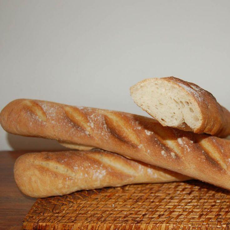 "Ricetta BAGUETTE FRANCESE (dedicata a Panina: l'unica, vera ""Baguette"" del sito!) bimby"