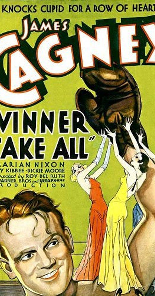 Winner Take All (1932) James cagney, Movie posters