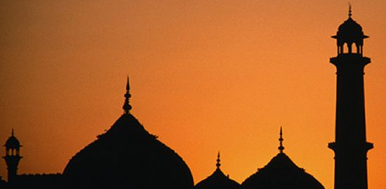 Islam-monotheistic religion that emerged in the Arabian peninsula during the seventh century
