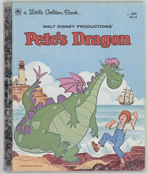 Pete's Dragon / Walt Disney / Little Golden by BooksPaperAndMore