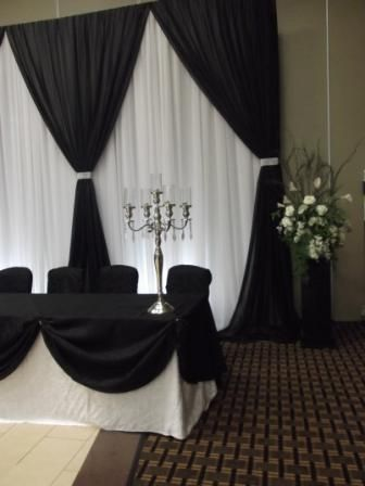 Head Table Backdrop Head Table Set Ups Pinterest