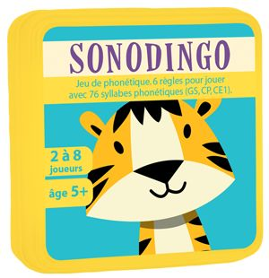 jeu cartes sonodingo syllabes phonetiques phonologie aritma didacool MS GS CP CE1 aritma