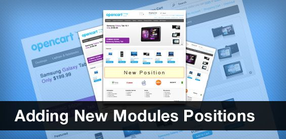 Adding New Modules Positions