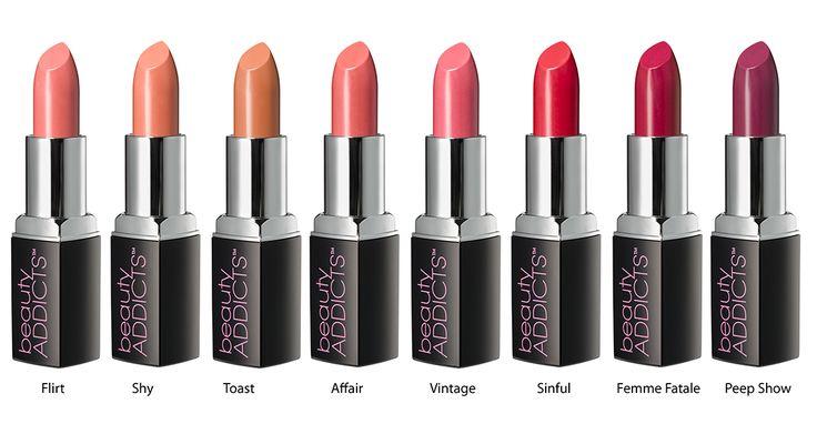 Finde Deinen Liebling! Die cremigen Lippenstifte von Beauty Addicts überzeugen durch ihre hohe Qualität und Haltbarkeit.