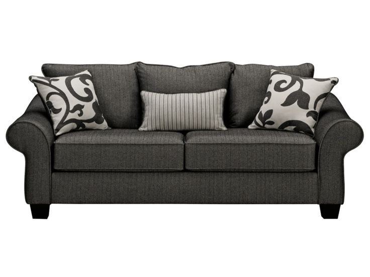 $499 Colette Grey Sofa - Value City Furniture