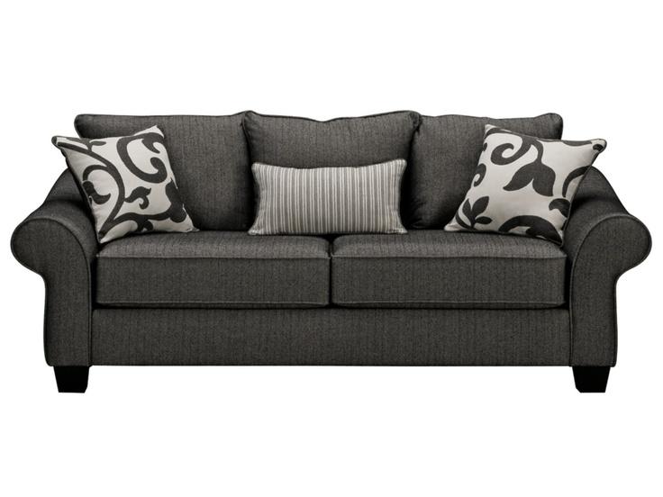 $499 Colette Grey Sofa - Value City Furniture