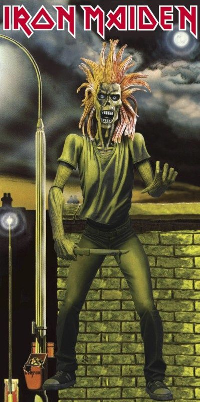 Iron Maiden Debut Eddie the Head! http://www.pinterest.com/TheHitman14/eddie-of-iron-maiden-fame/