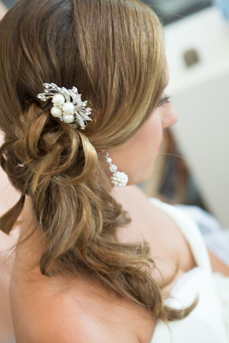 Best 25+ Side ponytail wedding ideas on Pinterest