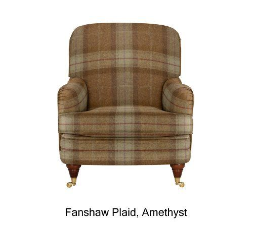 Club Chair - Brass Effect Feet - Marks & Spencer