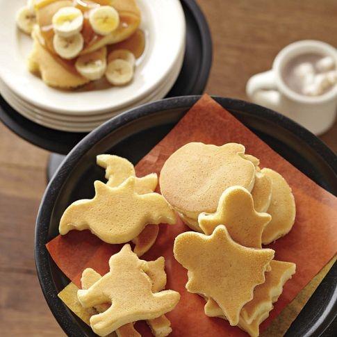 Halloween Mini Pancake Molds Food Gourmet Recipes Gourmet