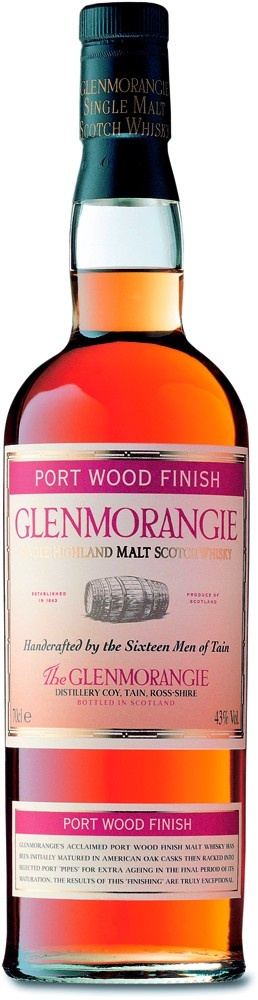 Glenmorangie Port Wood Finish. It would seem that Clive has unusual and very expensive taste in whiskey.
