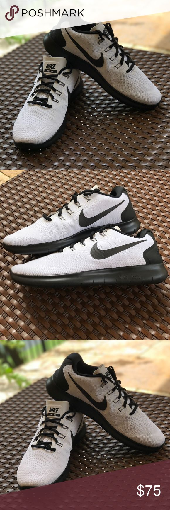 Nwt Nike ID free rn custom Brand new no box. Nike ID custom made.Price is firm!!The next generation of the coveted Nike Free is here. Now with a newly designed auxetic tri-star outsole pattern, the Men's Nike Free RN Running Shoe offers the most flexible
