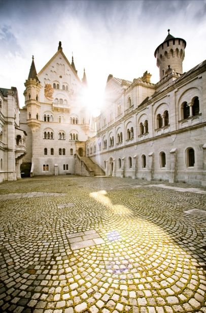 Neuschwanstein Castle, Bavaria, Germany.  A massive tour of Germany is in order me thinks.