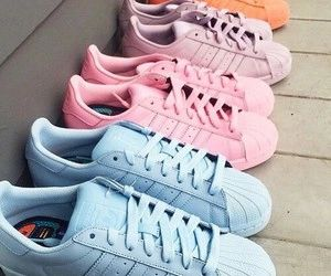 colorful adidas