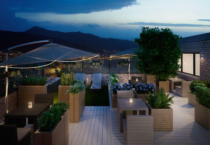 Arredare il terrazzo del tuo locale. I nostri consigli per arredare il terrazzo del tuo locale in modo elegante, rilassante e moderno: http://www.leroymerlin.it/idee-progetti/progetti-esterno/terrazzo-locale-pubblico
