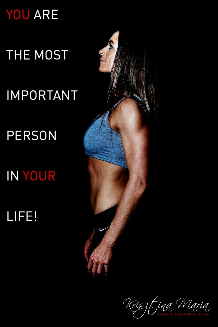 YOU are the most important!