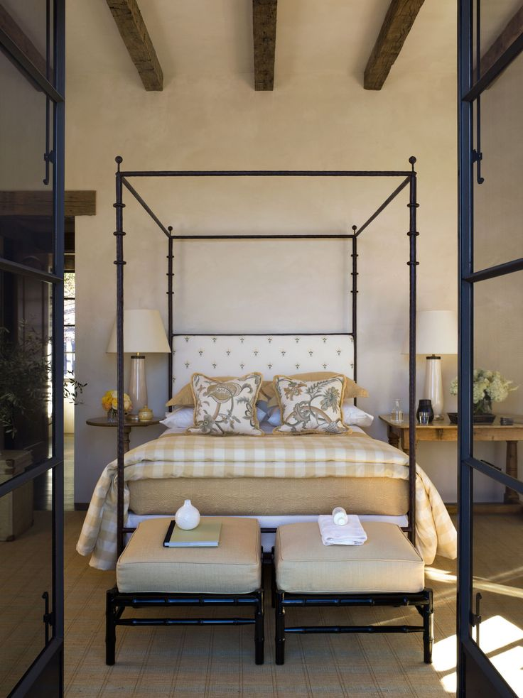 napa valley california bedroom design