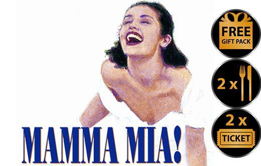 Mamma Mia Theatre Voucher | Show and Dinner Gift Voucher Package for Two - BestBuys4You