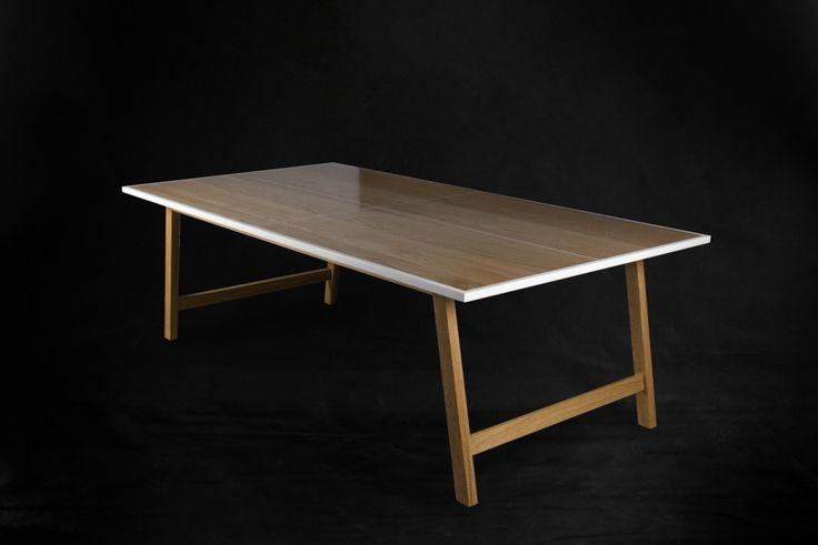 Ping Pong Table Tennis Boardroom Table 3qtr. #makimakifurniture #makimaki #brisbanemade #makimakihandmade