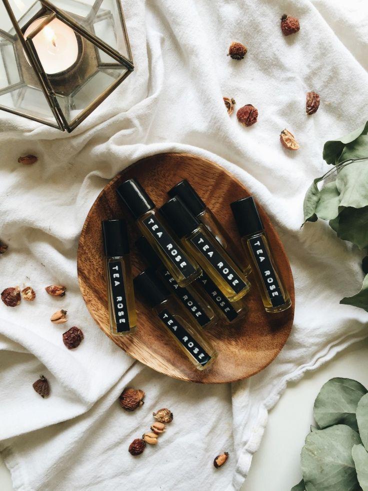 DIY: tea rose perfume oil
