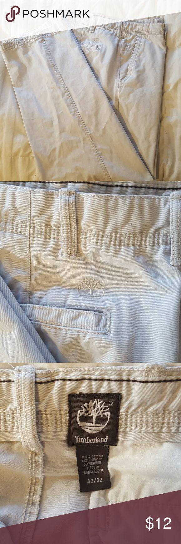 Men's Timberland khakis.   42x32 Great condition Timberland Pants Chinos & Khakis