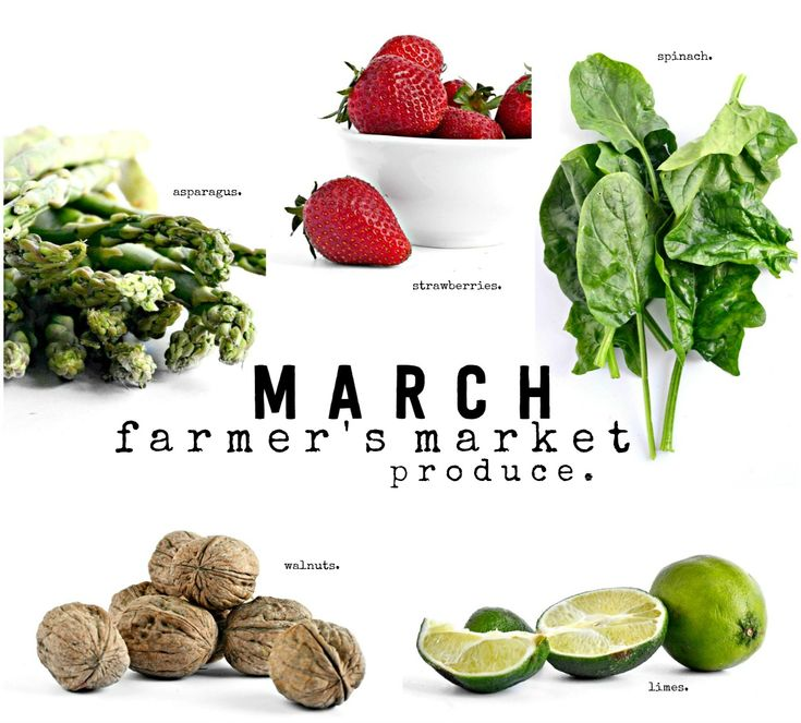 What's In Season for March: Your guide to seasonal produce
