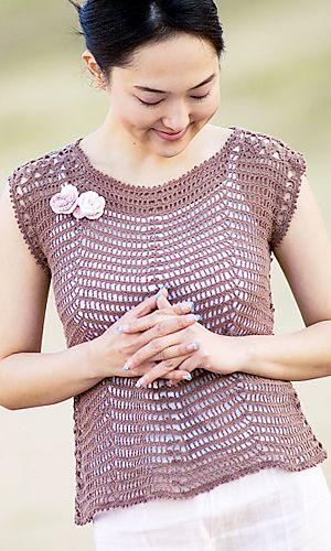 Saratto Cotton Vest pattern