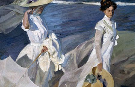 Paseo a Orillas del Mar. 1909