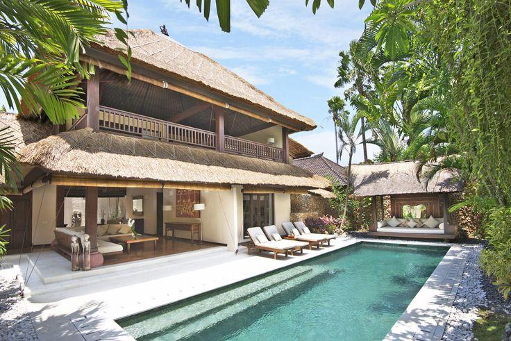 Villa 3 pool at Villa Kubu, Seminyak, Bali