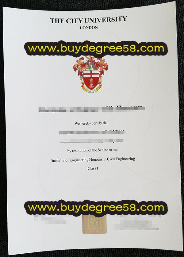 The City University London degree, buy fake The City University