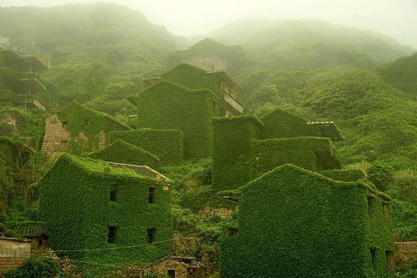 The lost city Gouqi Island