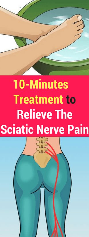 10-Minutes Treatment to Relieve The Sciatic Nerve Pain – healthycatcher