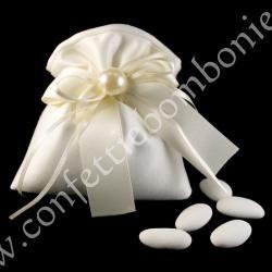 Bomboniera linea perla sacchetto m