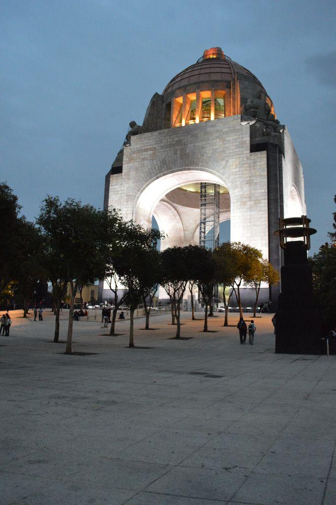Viva Pancho Villa. Revolution Monument . Mexico City.monumento ala revolucion d.f