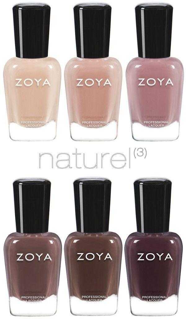 Zoya Spring 2017 Naturel 3 Collection