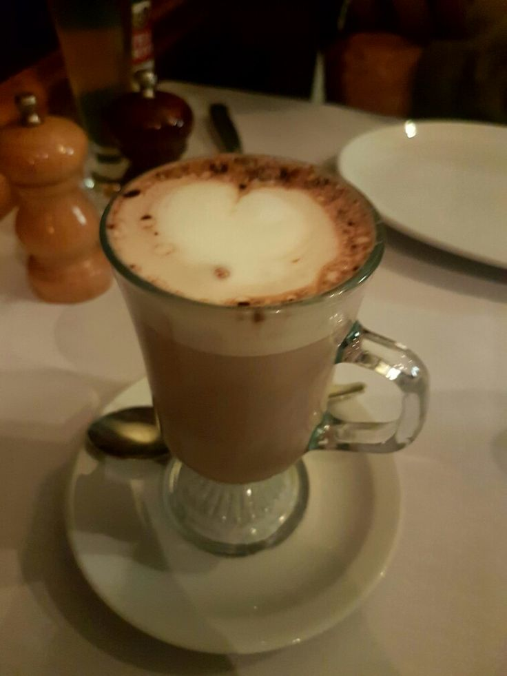 Drink this coffee at the steak house lygon street melbourne victoria