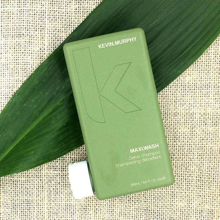 Kevin Murphy MAXI.WASH uses AHAs and balancing essential oils to detox the hair and scalp