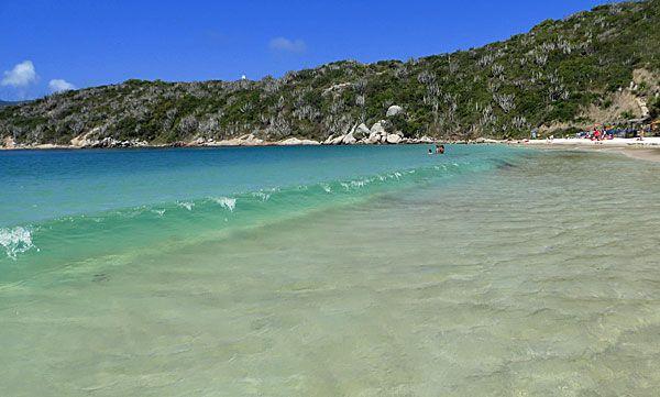 Praia do Forno, Arraial do Cabo, Brasil.