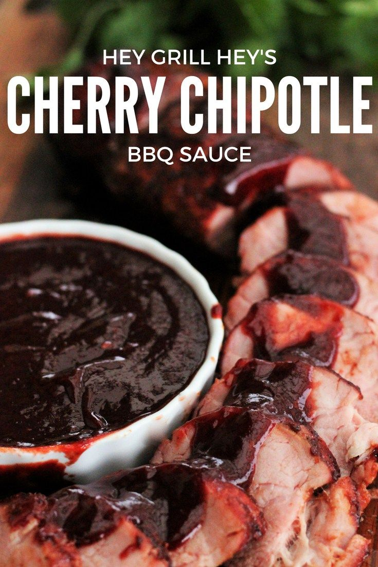Cherry Chipotle BBQ Sauce - Powered by @ultimaterecipe
