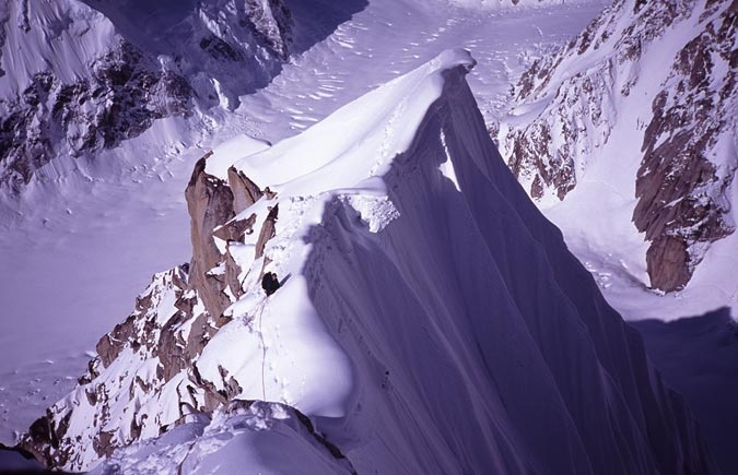 Peak 11,300 ridge