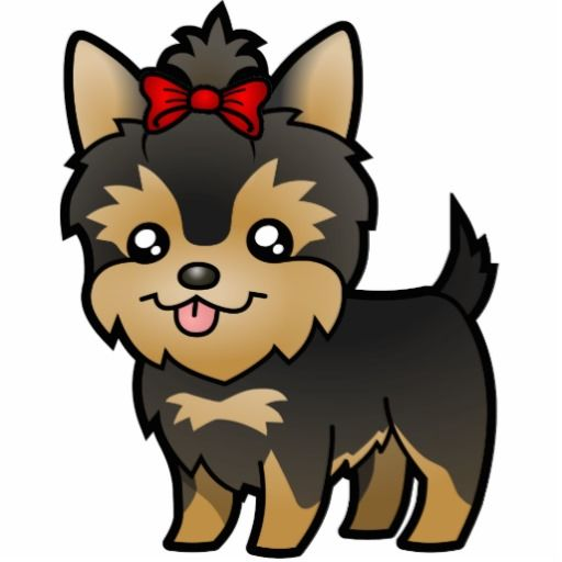 Free Yorkie Clip Art And Coloring Pages Yorkies