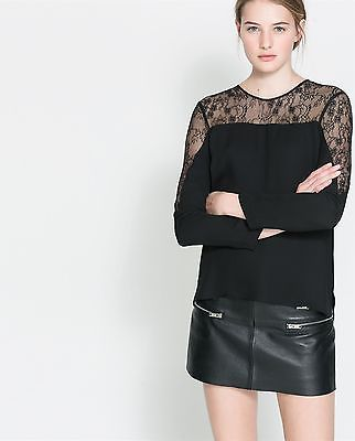 Buy Fall New Women Europe Style Lace Spliced Hollow Out T-shirt From  Wholesale Online Website.