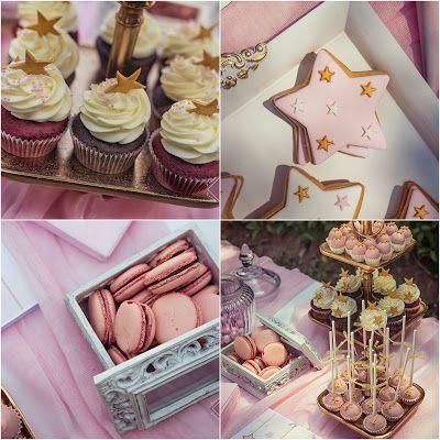 Ένα Candy Bar γεμάτο γεύσεις από cupcakes, macarons, αμυγδαλωτά, petits fours, μπισκότα και cake pops, με την επιμέλεια και έμπνευση του @La Madrina! Αποτέλεσμα μιας υπέροχης συνεργασίας!