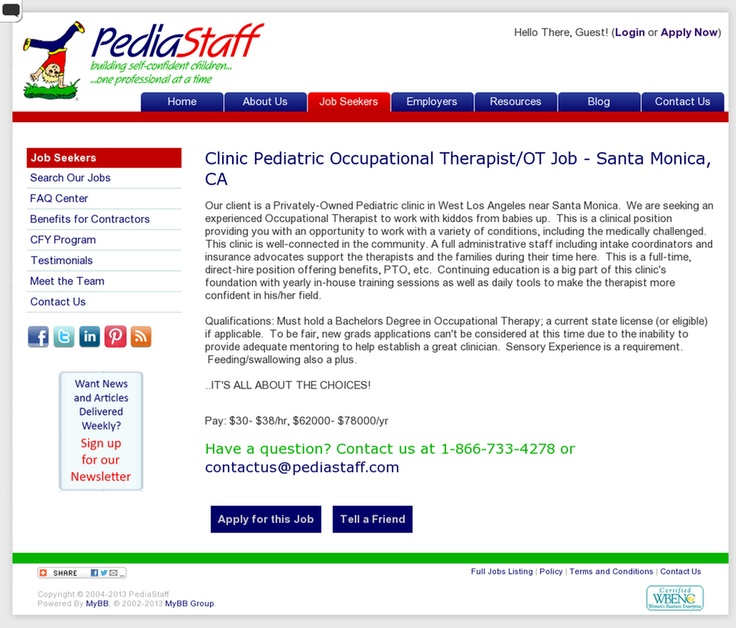 Best Ot  Websites Images On   Occupational Therapist