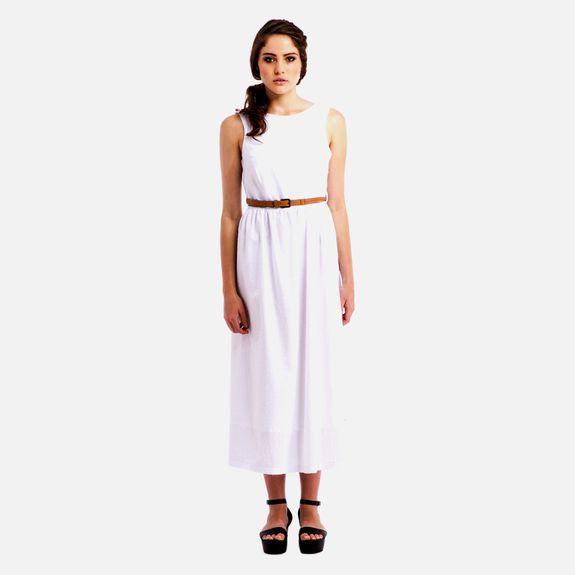 Black Eyed Susan - Daydreamer Dress – White @ Superbalist
