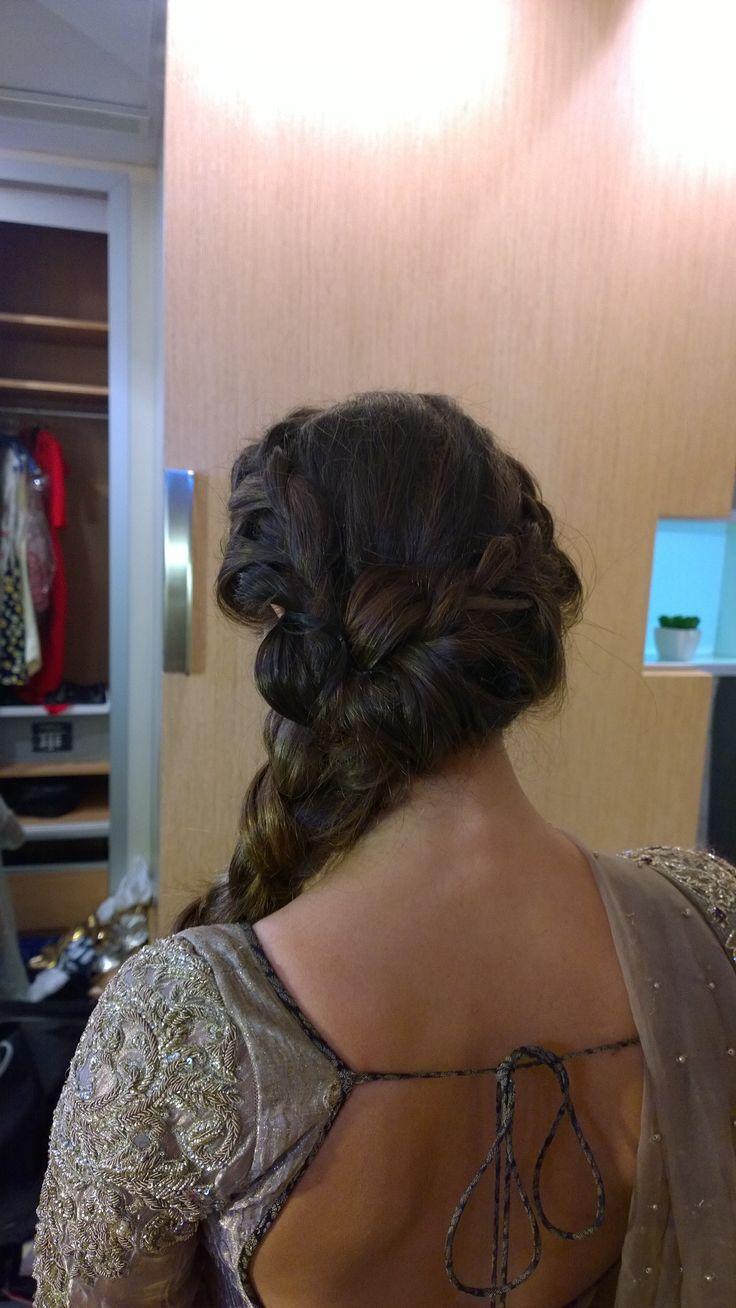 Pakistani wedding hair and makeup in Rome italy by Janita Helova http://janitahelova.com/