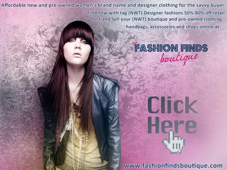 Craigslist Image Ad for Fashion Finds Boutique