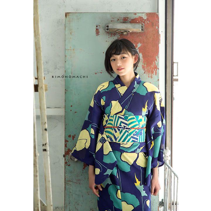 紺 けし|夢館オリジナル着物&浴衣