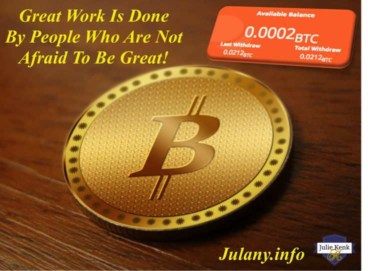 Bitcoin Is Taking The World By Storm Earn A Passive Income - 400% Or More! Withdraw Returns Daily! Lock In Your Free Spot Now!   My Results are not Typical: This proof of earnings is not a guarantee that you would earn the same, but it is possible to earn this much or more an equal or greater strategy and work ethic