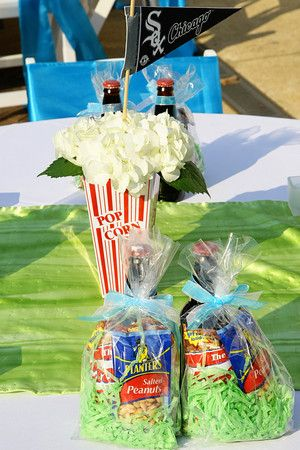 baseball themed favors - wedding or party